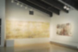 "Installation View - ONE THOUSAND PRAYERS"" Olin Art Gallery, 2012 Washington & Jefferson College, Washington, Pennsylvania"