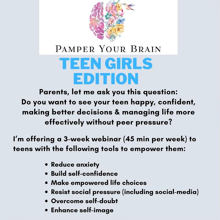 Pamper Your Brain Teen Girls Edition