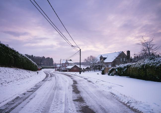 Winter in de straat - 2017