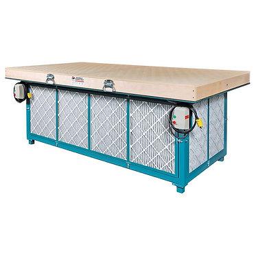 """48""""  W x 96""""  L Downdraft Sanding Table,64657"""