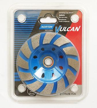 Norton Cup wheel 4'' grade D (green) Bear--70184602506