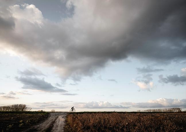 De eenzame fietser - 2020