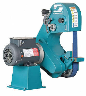 "2""  W x 60""  L Three Wheel Belt Grinder,67906"