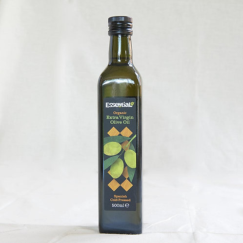 Essential Olive Oil Extra Virgin, Cold 500ml