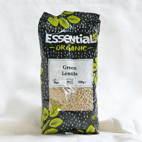 Essential Green Lentils