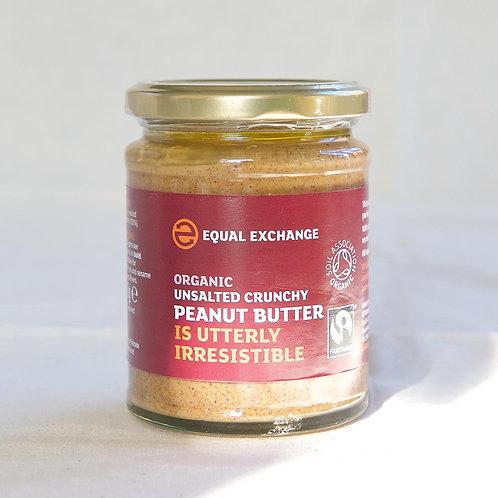 Equal Exchange Peanut Butter Crunchy (ns)