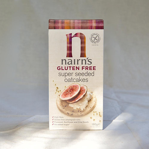 Nairns Gluten Free Oatcakes Seeded