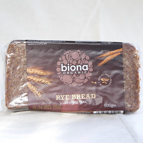 Biona Rye Bread 500g