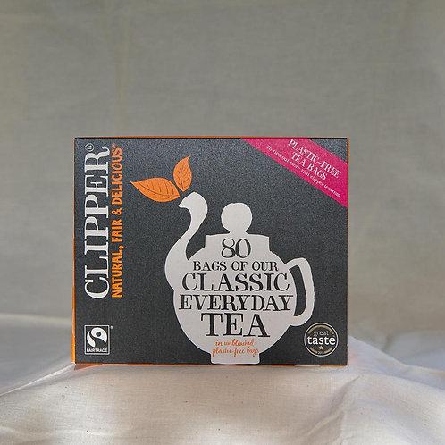 Clipper Fairtrade Everyday Tea Bags 80