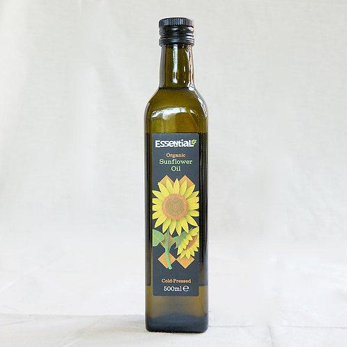 Essential Sunflower Oil - Cold Pressed 500ml
