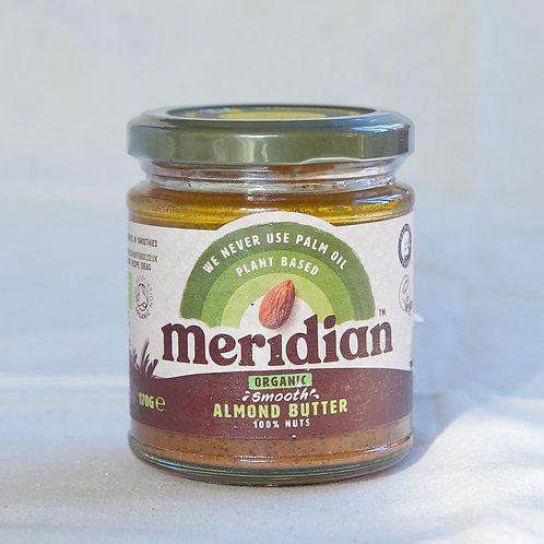 Meridian Almond Butter Smooth 100%