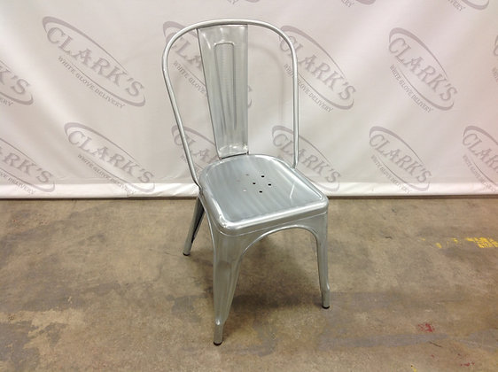 METROPOLIS POWDER COATED STEEL SIDE CHAIR BY NEW PACIFIC
