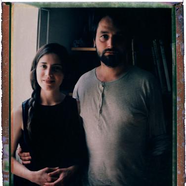 Kseniya Babushkina and Aleksandr Gronskyi. hotographers