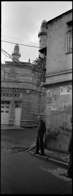 Standing on the corner