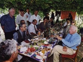 Тур Хейердал. 2000 год. Баку, Габала, Шеки