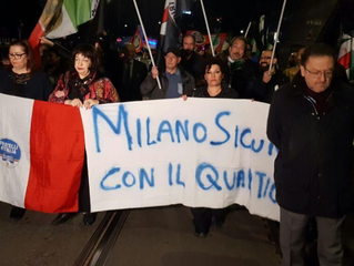 """CERTOSA, DE CORATO: IERI FDI IN CORTEO CON RESIDENTI DEL COMITATO """"MILANO SICURA"""" CHE DENUNCIANO IMM"""
