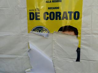PIAZZA ARGENTINA, DE CORATO: MIO GAZEBO VANDALIZZATO DA SOLITI NO GLOBAL. TELECAMERE VICINE, APPELLO