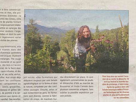 Portrait d'Agnès Viry dans La Gazette