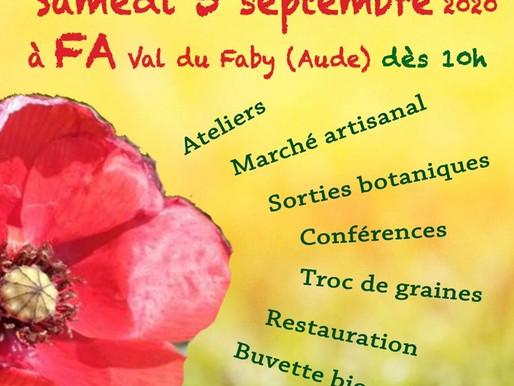Fête des plantes sauvages dans l'Aude