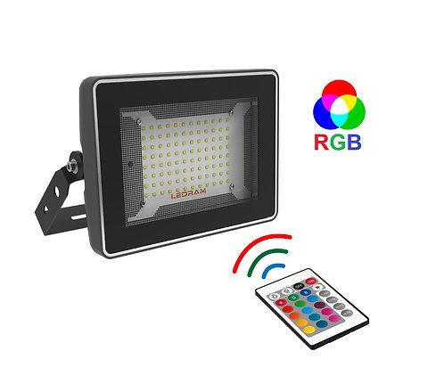 Ledram GTP-100-RGB+Kumandalı 50W Colormatic Led Projektör