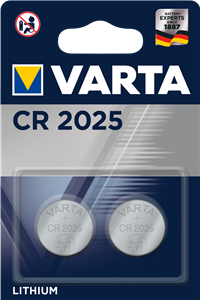 Varta CR 2025 2li Lityum