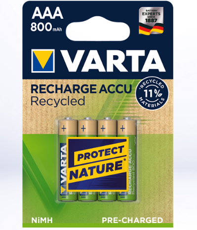 Varta Rechargeable Accu Power 4lü AAA 800 mAh R2U