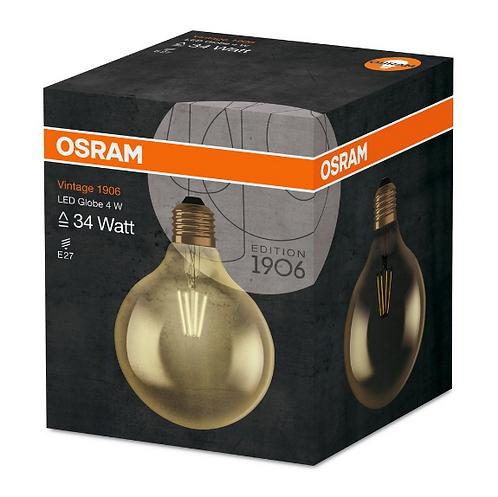 Osram Led Vintage Gold Globe 4W Sarı Işık E27