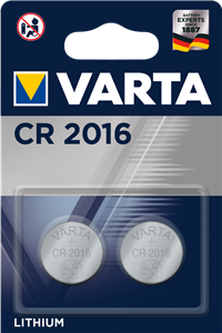 Varta CR 2016 2li Lityum