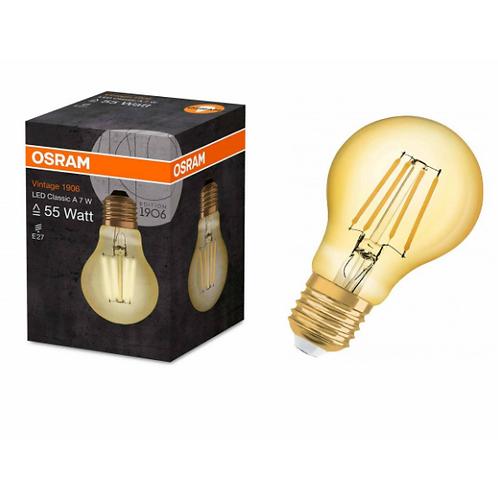 Osram Led Vintage Gold Flaman Sarı Işık E27 Duy Lamba