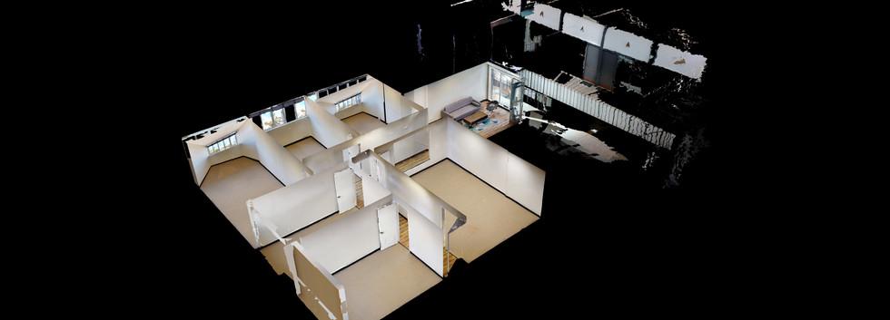 Suite 200 - Dollhouse View