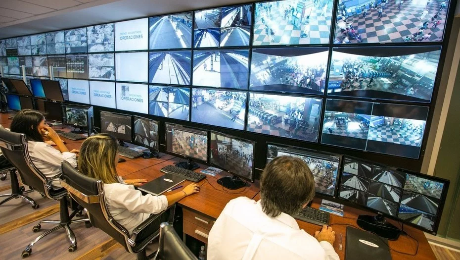 Operador de CCTV