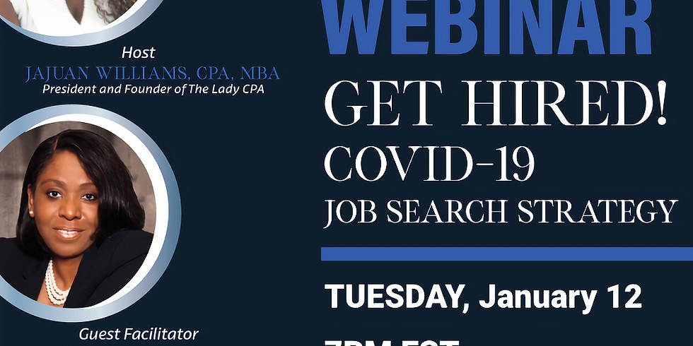 Get Hired Covid 19 Job strategy search with Accounting Executive Recruiter Tina Ragin