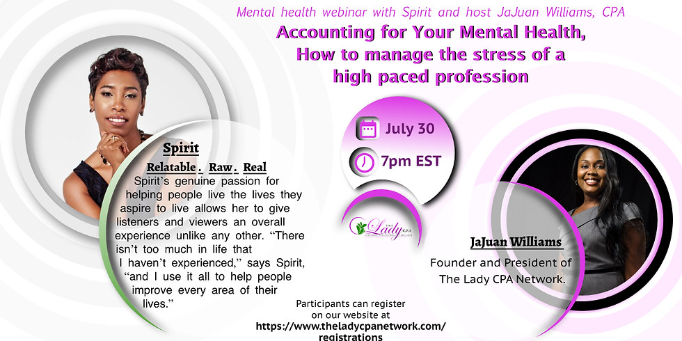 Accounting for Your Mental Health