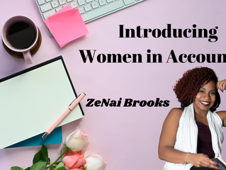 Introducing Women in Accounting: ZeNai Brooks