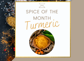 Spice of the Month- July: Turmeric