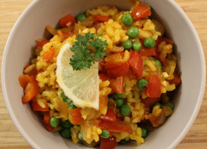 Veggie meal inspiration: Paella