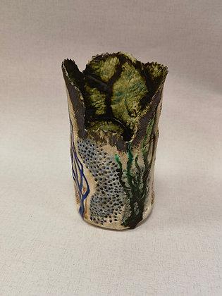 Cream Coral Vase - The Coral Range - Lesley Badger