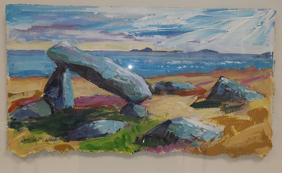 """Cromlech on St David's Head"" - Caroline MacLachlan"