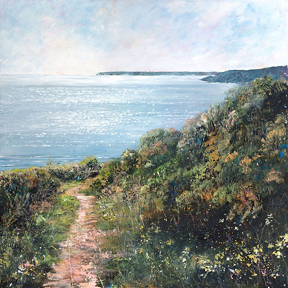 """Freshwater East to Stackpole"" - Jantien Powell"