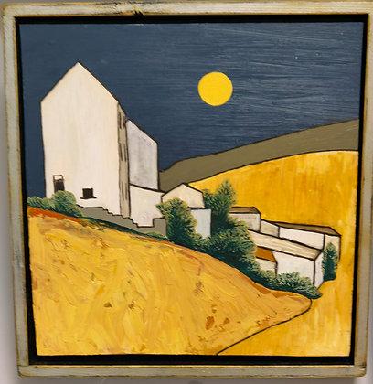 """King Edward Street - Garw Valley "" by Janette Roberts"