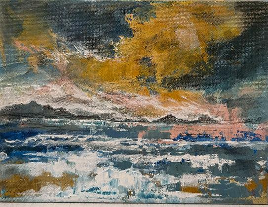 """Sunset over Dale"" - Victoria Reynolds"