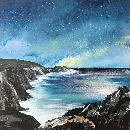"""Coastal Stars"" - Framed Acrylic - Jill Jones"