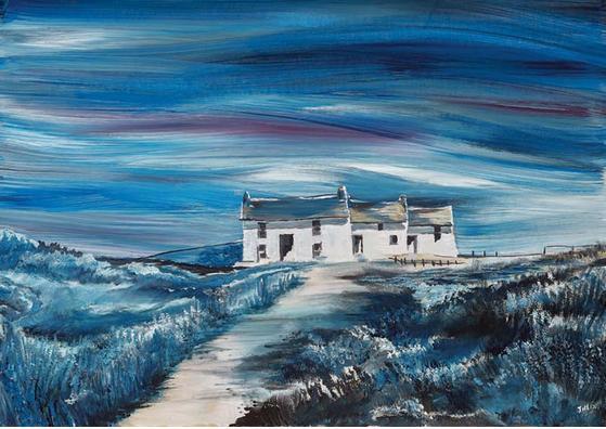 """""""Midnight Pembrokeshire Cottage"""" - Jill Jones"""