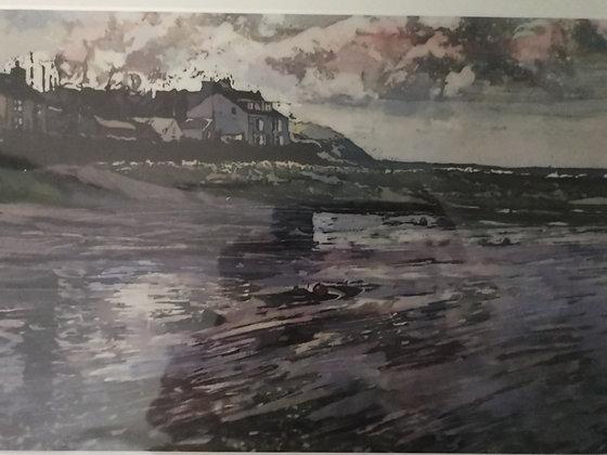 """""""The Parrog - Newport"""" Print by Rhona Tooze"""