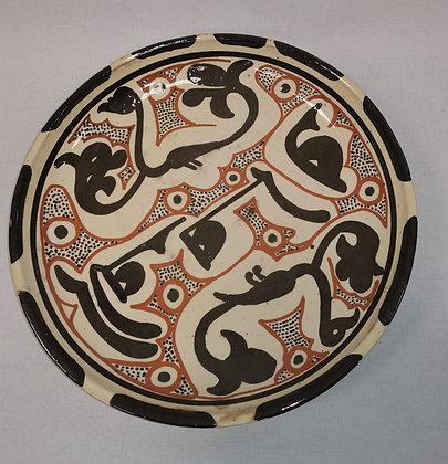 Large Platter Uzbekistan by Abdullah Nazuraev