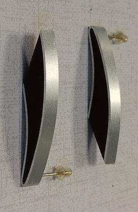Panayotav Burgundy Post Earrings