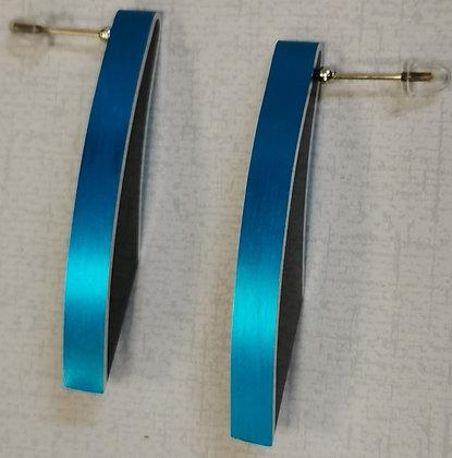 Panayotav Blue/Black Earrings