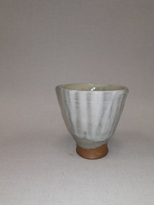 Soft Grey Footed Beaker - Tim Lake