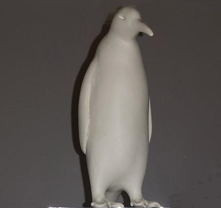 Porcelain Penguin on Plinth