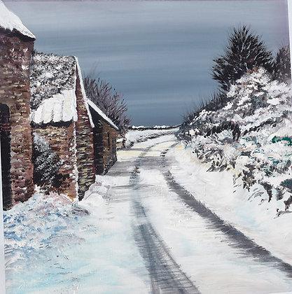 """Talbenny Snow"" Giclee Print - Jill Jones"